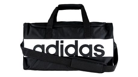 Černá sportovní taška ADIDAS Linear Performence Teambag