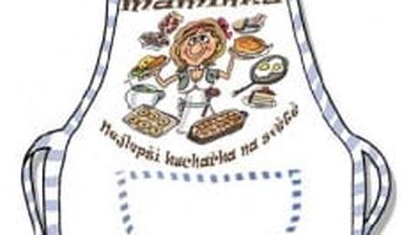 Zástěra - Maminka nejlepší kuchařka