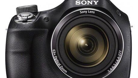 Sony CyberShot DSC-H400 (černý)