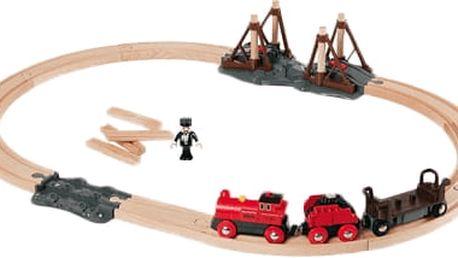 BRIO Vláčkodráha s parní lokomotivou