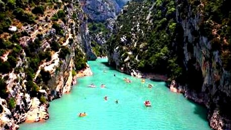 Provence 5-denní zájezd s ubytováním. Marseille, ostrov IF, Grand Canyon Du Verdon, Cannes a Monaco
