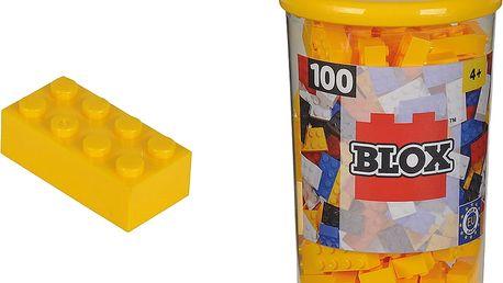 SIMBA Blox 100 Kostičky v boxu – žluté
