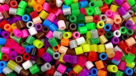 Zažehlovací korálky v různých barvách