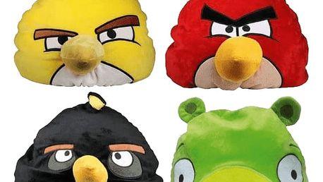 EPLINE Relaxační polštář Angry Birds, červená