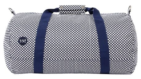 Tmavě modrá sportovní taška Mi-Pac Duffel Microdot