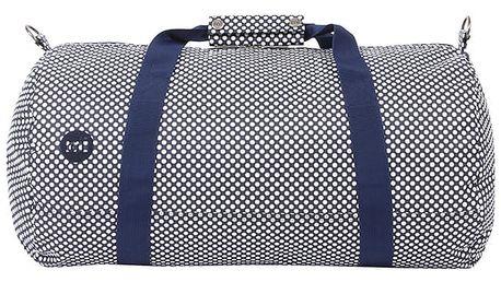 Tmavě modrá športová taška Mi-Pac Duffel Microdot