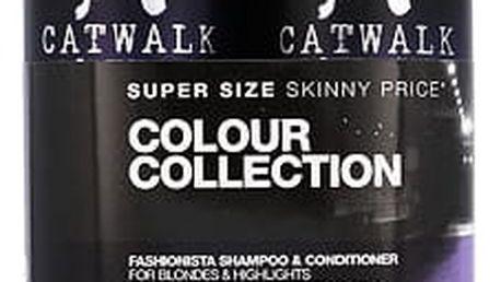 Tigi Catwalk Fashionista Violet šampon dárková sada W - šampon 750 ml + kondicionér 750 ml