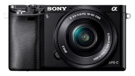 Sony Alpha 6000, 16-50mm, Black (ILCE6000LB.CEC)
