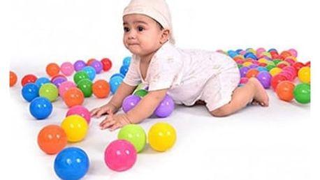 Plastové míčky do bazénku 5,5cm - 100ks