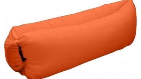 Nafukovací vak Lazy bag - oranžová