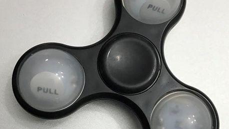 Fidget spinner s LED osvětlením