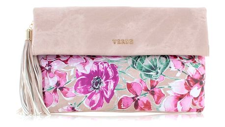 Světle růžová kabelka Blossom