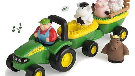 JOHN DEERE Traktor se zvířátky