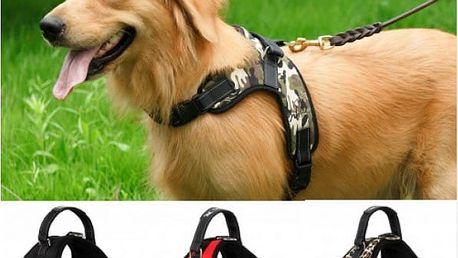 Nastavitelný postroj pro psy Tailup