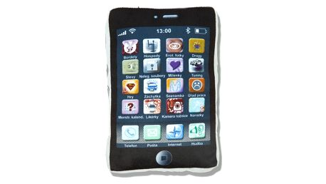Polštář iPhone CZ