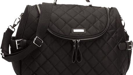 STORKSAK Přebalovací taška Poppy černá