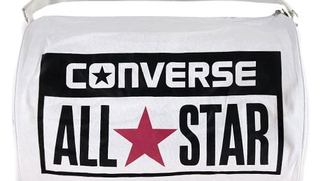 Bílá sportovní taška Converse Legacy Barrel Duffel