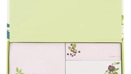Sada bločků s lepícími papírky Laura Ashley Parma Violets by Portico Designs
