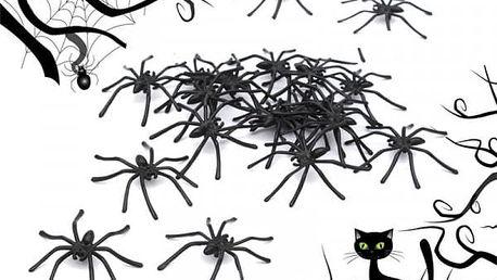 Sada černých pavouků - dodání do 2 dnů