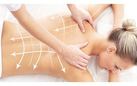 Ruční lymfatická masáž celého těla v délce 80 minut