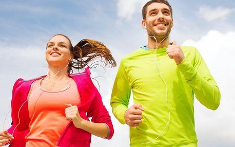 Lekce běhu pro pokročilé na akademii Z. Hejnové