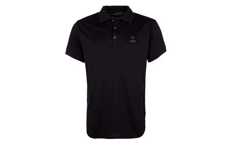 Pánské technické polo tričko KILPI JOHAN černá xl