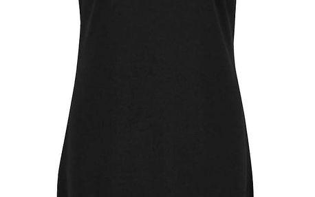 Černé šaty s krajkovým sedlem ONLY Mace
