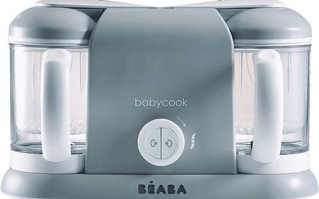 BEABA Parní vařič+mixér BABYCOOK DUO, šedá