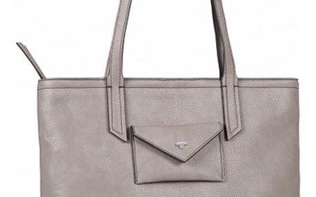 Šedo-béžová kabelka Tom Tailor Joan