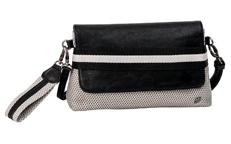 Černo-šedá kabelka Tom Tailor Virginia