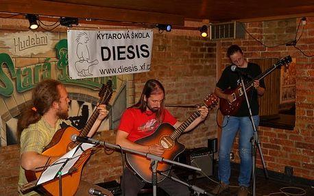 Prázdninový kytarový kurz Brno 9. -14.7.2017 - rock, blues, folk, flamenco