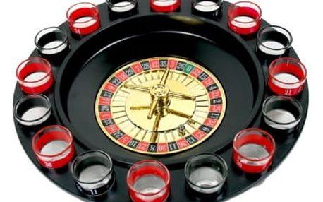 Alkoholická ruleta - černá