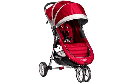 BABY JOGGER Kočárek City Mini - Crimson/Gray