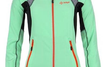Dámské technická strečová bunda KILPI NORDIM-W světle zelená 42