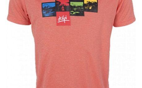 Pánské technické tričko KILPI GIACINTO oranžová xl