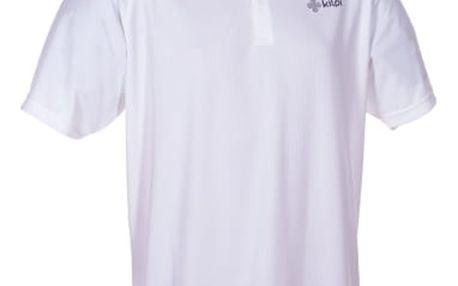 Pánské funkční POLO tričko KILPI GEPARD I. bílá S