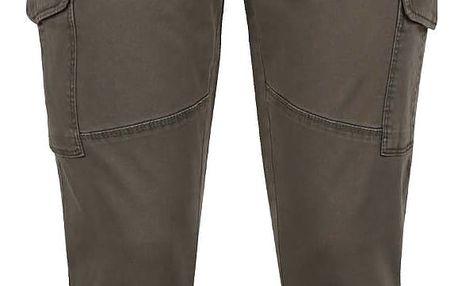 Khaki džíny s nášivkami ONLY Amy