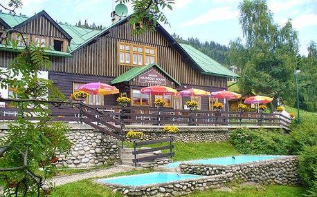 4–6denní pobyt s polopenzí v pensionu Krausovy boudy ve Špindlerově Mlýně pro 2
