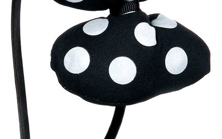 Fashion Icon Čelenka puntíkovaná mašle HANDMADE Minnie