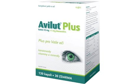 HBF Avilut Plus Recordati -tablet 120+30 zdarma