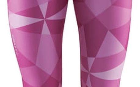 Craft W Kalhoty Pure Print 7/8 potisk růžová M