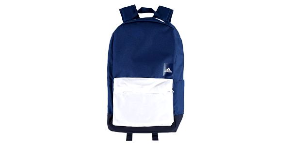 Modro-bílý batoh ADIDAS A. Classic M BLO