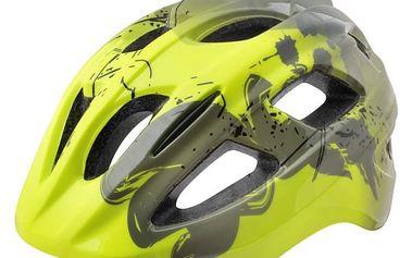 Juniorská cyklistická helma R2 BONDY ATH07B Žlutá M 56-58cm
