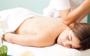 45minutová havajská masáž zad a šíje Lomi Lomi
