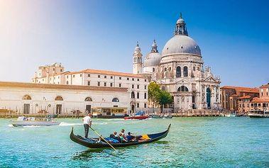 3denní zájezd pro 1 do italských Benátek s návštěvou vinařství v Trevisu