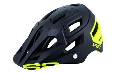 Unisex cyklistická helma R2 TRAIL ATH08H Černá L 58-61cm