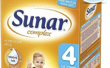 SUNAR Complex 4 JAHODA (600g) NOVÝ – kojenecké mléko