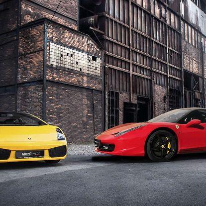 Jízda vsupersportu Ferrari 458 Italia nebo Lamborghini