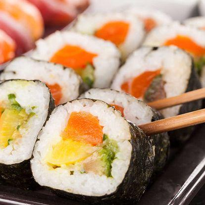 Až 48% sleva na bohaté sushi sety, 26 až 56 kousků