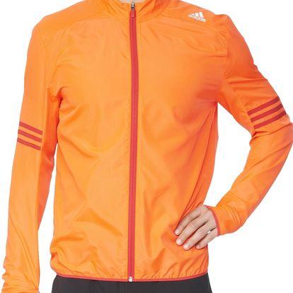 Pánská běžecká bunda adidas Response Wind Jacket m M